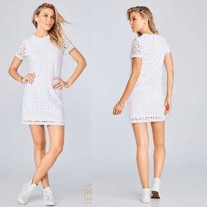 Fabletics White Jordan dress